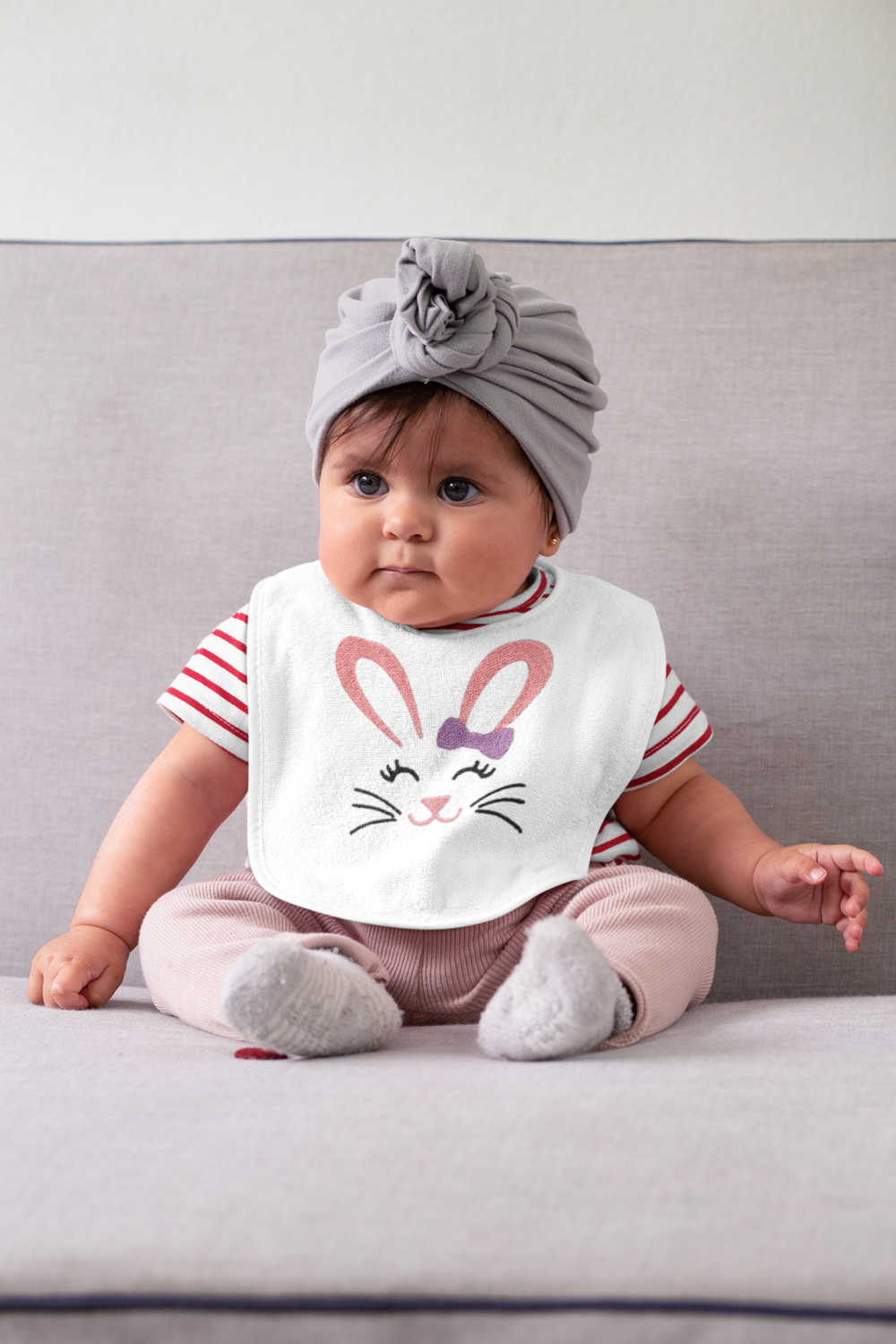 Baby's Personalized Easter Bib
