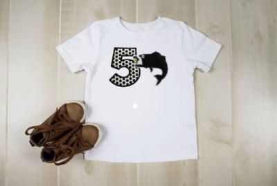 Child's Fish On! Birthday Shirt