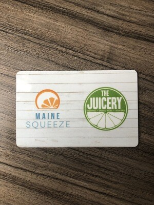 Maine Squeeze Gift Card