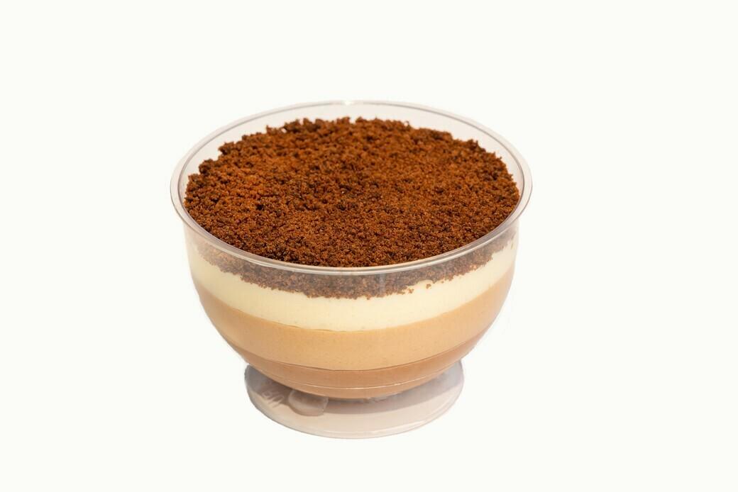 Муссовый десерт Три шоколада