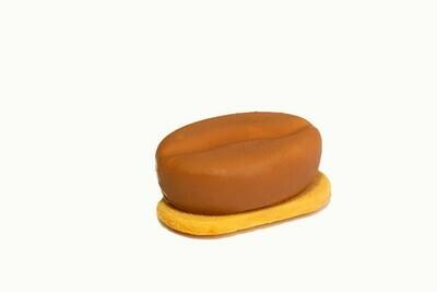 Лимонно-кофейное муссовое пирожное