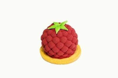 Муссовое пирожное Малина