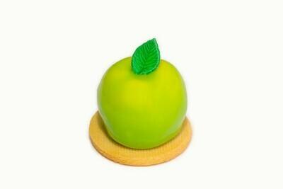 Муссовое пирожное Карамельное яблоко