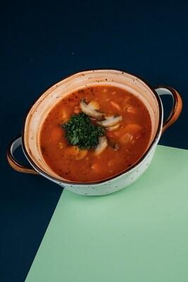 Суп-гуляш с овощами