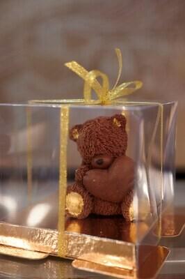 Мишка из молочного бельгийского шоколада