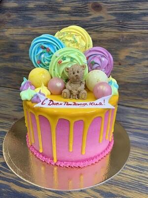 Заказной торт 1,5 кг