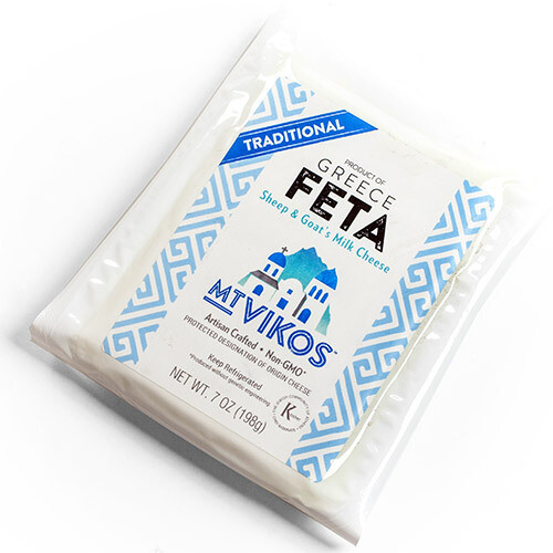 Mt Vikos Feta Sheep & Goat's Milk Cheese