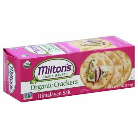 Miltons Baked Crakers Og2, Himalayan Salt