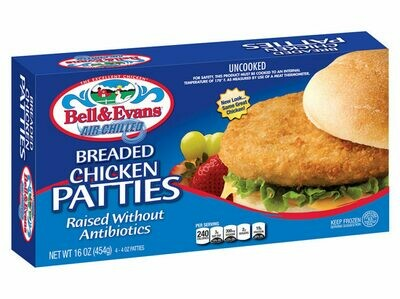Breaded Chicken Patties 16 Oz