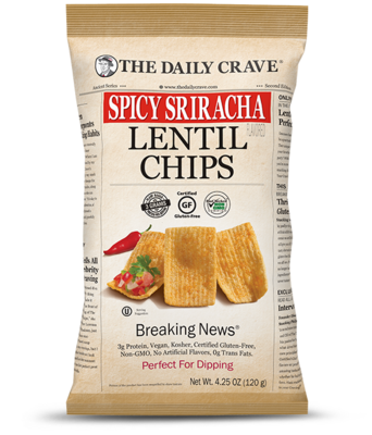 Lentil Chips - Spicy Sriracha