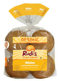 Hamburger Buns - White - Organic