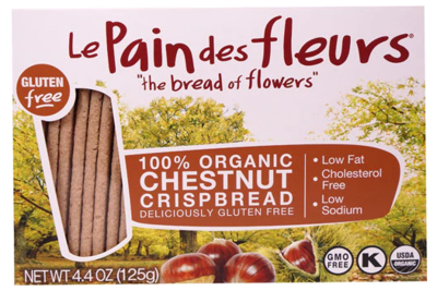 100% Organic Chestnut Crisp Bread