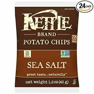 Sea Salt Potato Chips 1.5 Oz