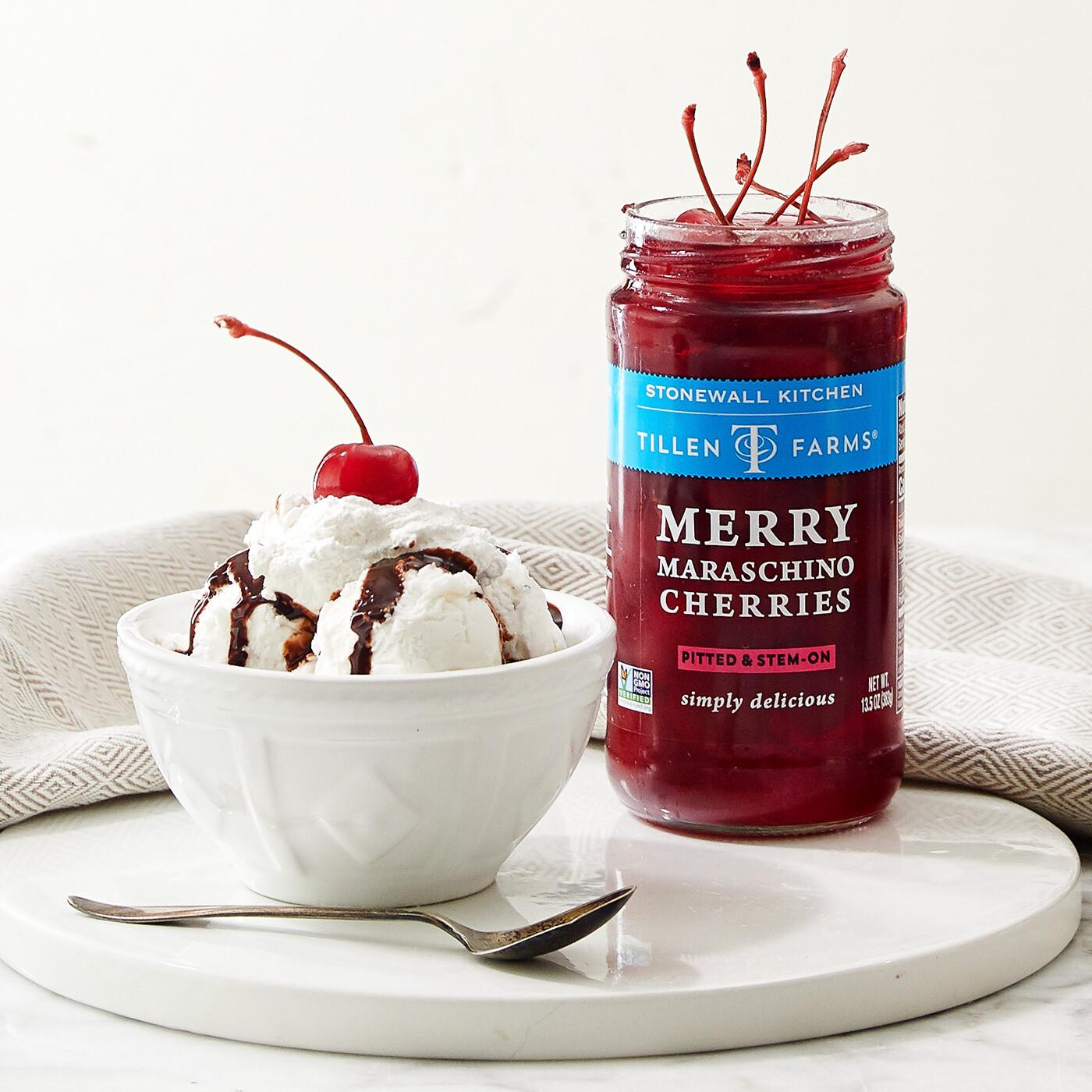 Merry Maraschino Cherries