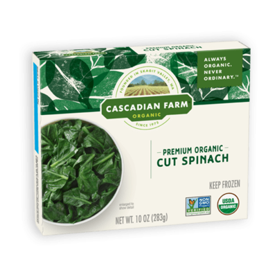 Cut Box Spinach 10 Oz