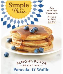 Simple Mills Pancake & Waffle Mix Gluten Free -- 10.7 oz