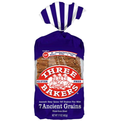 7 Ancient Grain Bread Gluten Free 17 Oz
