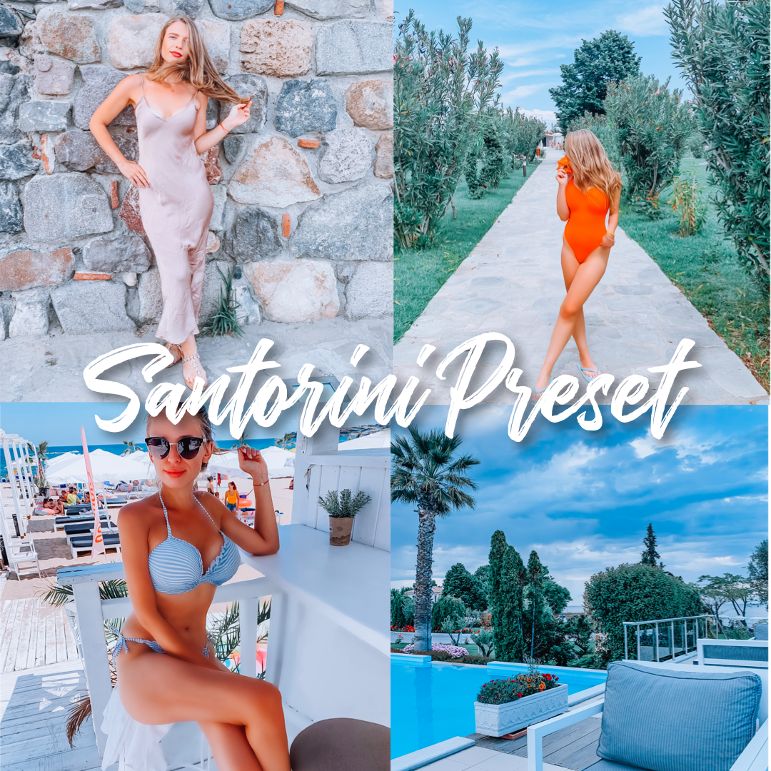 Santorini Lightroom Preset