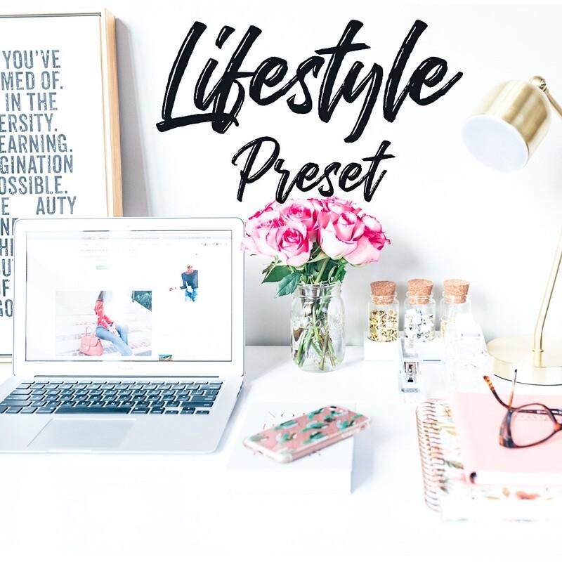 Lifestyle Lightroom Preset