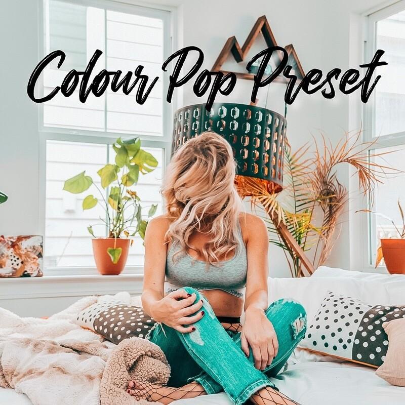 Colour Pop Preset