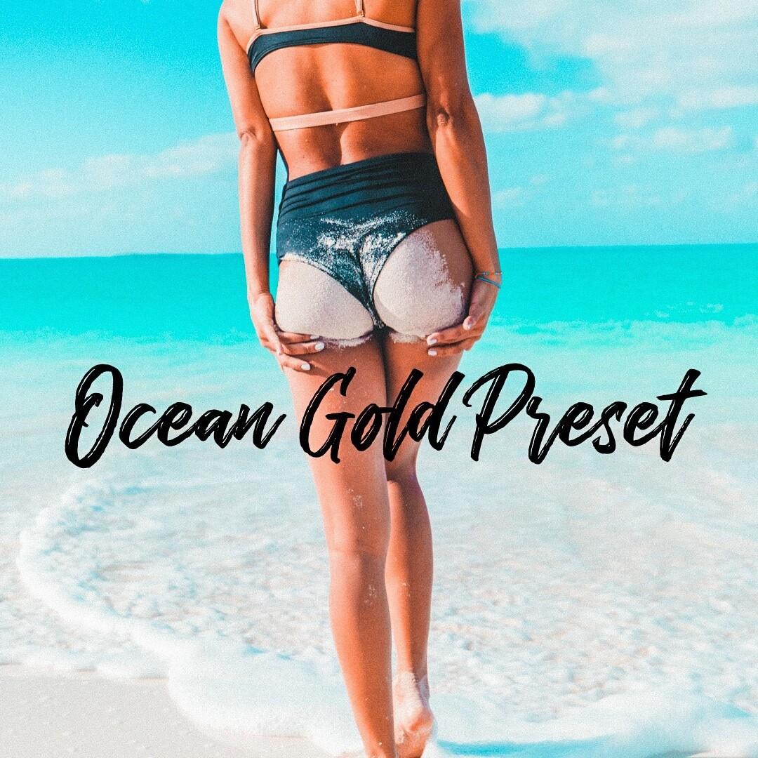 Ocean Gold Lightroom Preset