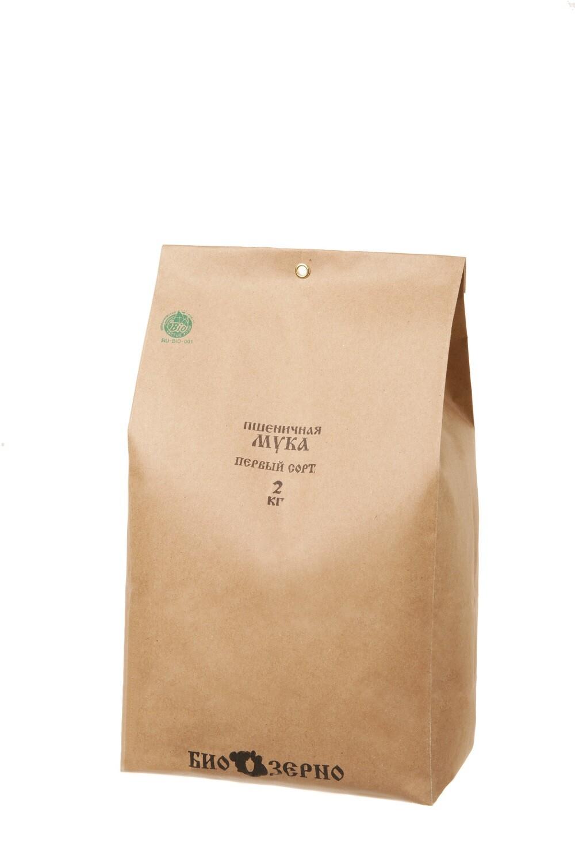 Мука пшеничная первый сорт 2 кг