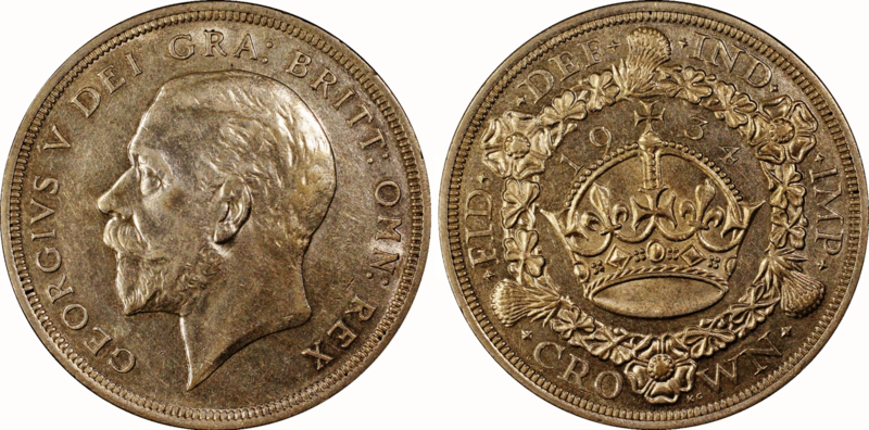 1934 Wreath Crown.