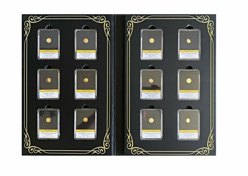 1795-1933 Gold Proof Eagle 12 Coin Collection