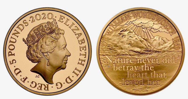 2020 250th Anniversary of Gold Proof £5