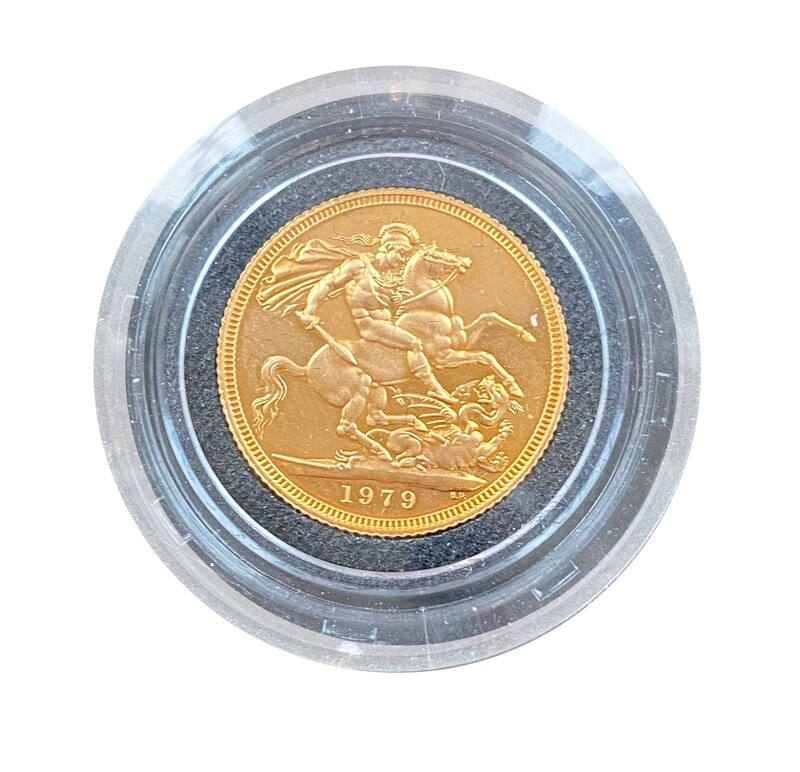 1979 Elizabeth II gold proof Sovereign