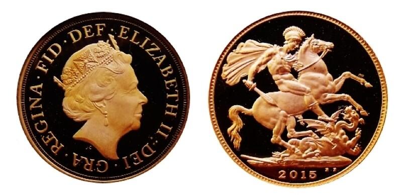 2015 Elizabeth II Gold Proof Sovereign