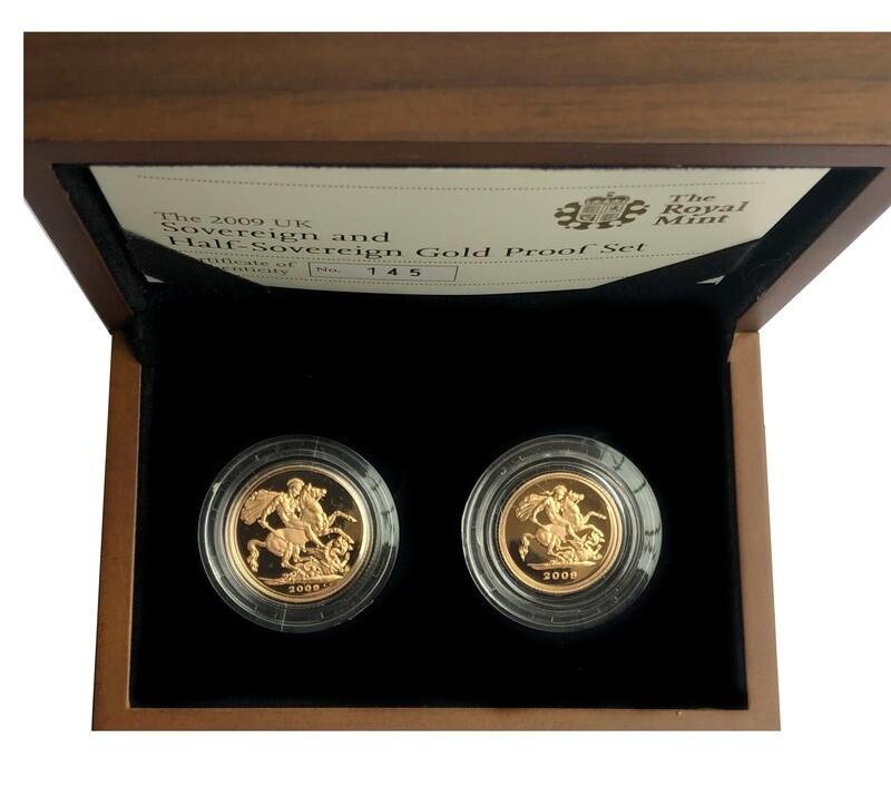 2009 Elizabeth II Gold Proof Set