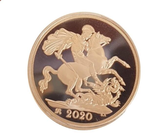 2020 Elizabeth II gold proof sovereign