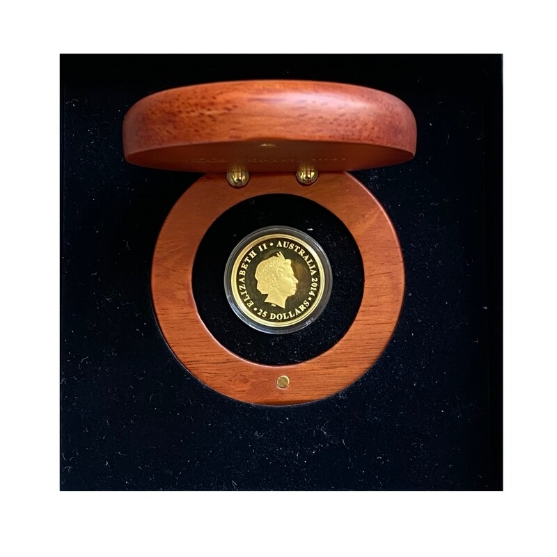 2014 Perth Mint Gold Proof Sovereign