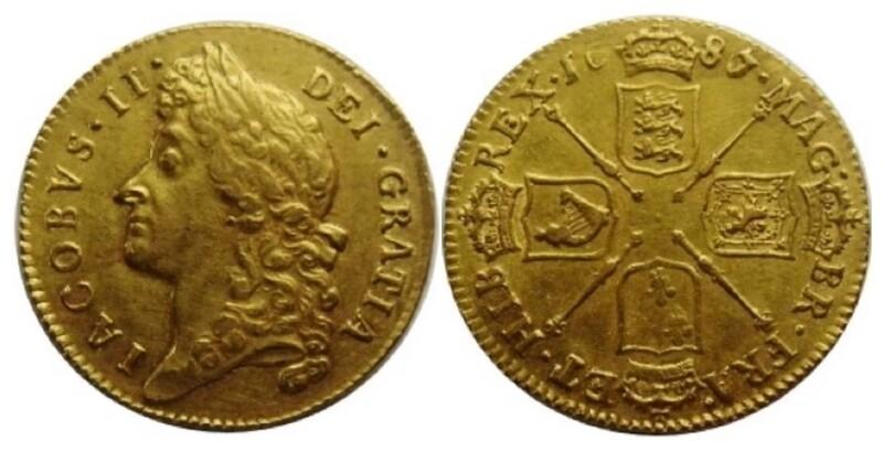 1687/6 James II Guinea