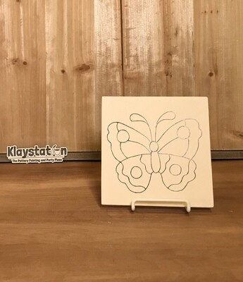 Butterfly Template Tile