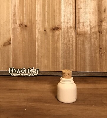 Mini Mason Cork Jar