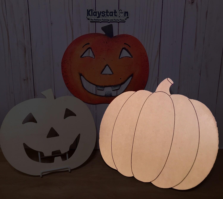 Lg. Pumpkin MDF Board