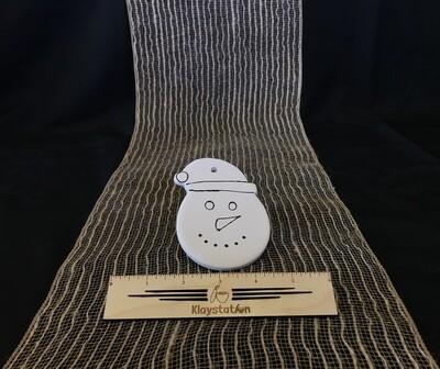 KSD Snowman Head Ornament