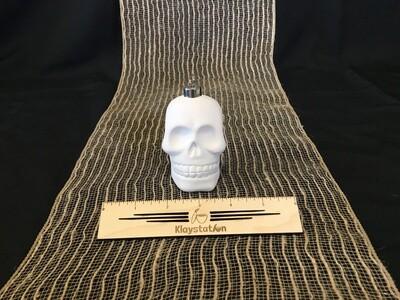 Skull Bulb Ornament