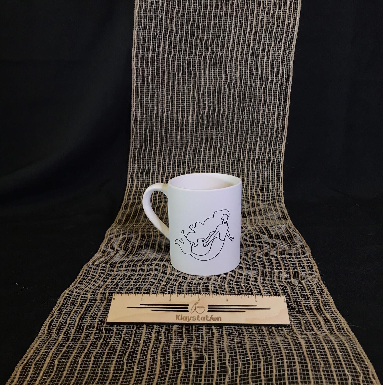 Mermaid Template Mug