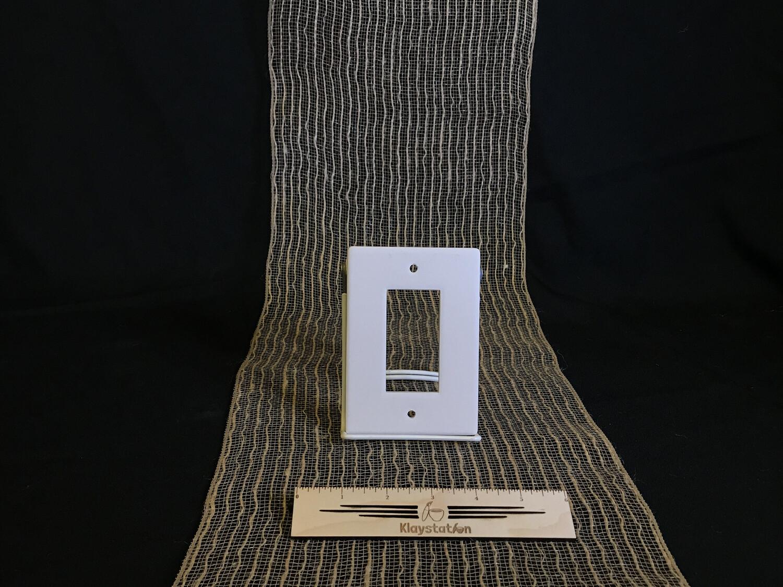 Single Rocker Switch Plate