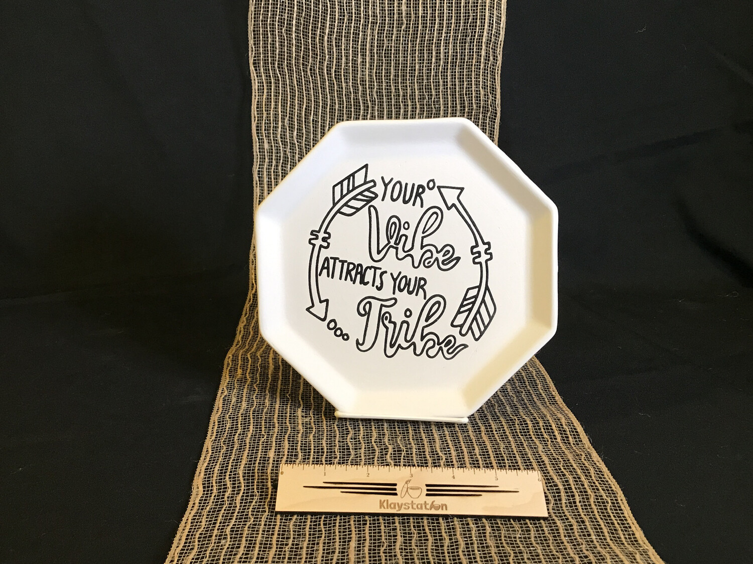 Tribe Template Plate