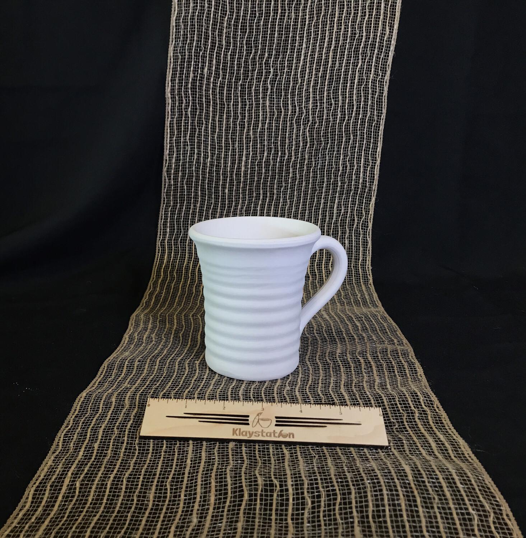 Flared Pottery Mug