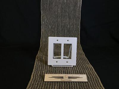 Double Rocker Switch Plate