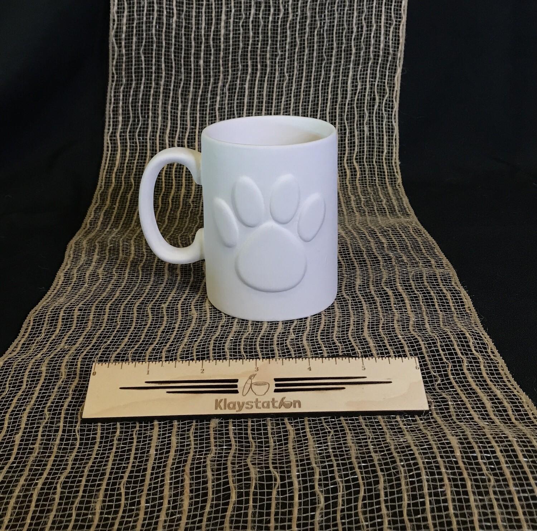 Paw Print Mug