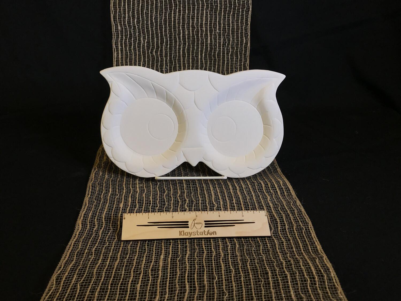 Owl Eyes Plate
