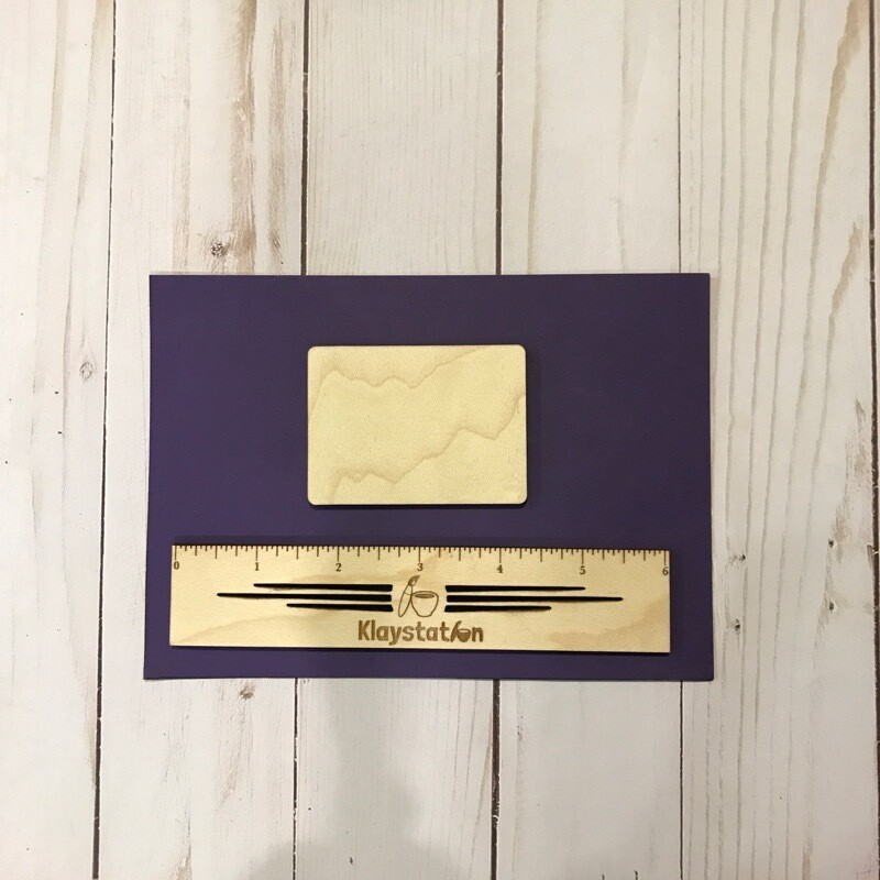 DIY Engraved Fridge Magnet