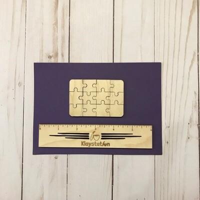 DIY Engraved Mini Puzzle