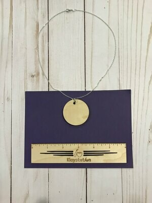 DIY Engraved Necklace